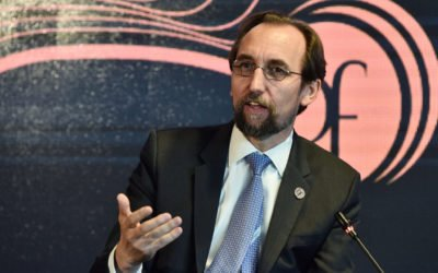 UN High Commissioner for Human Rights urges against looking away, world is breakable